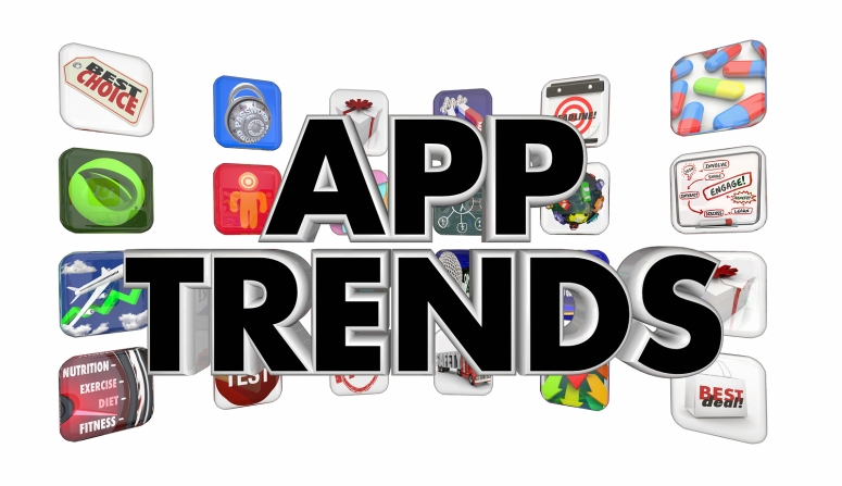 App Trends Popular Software Hot Mobile Applications Sales 3d Ill