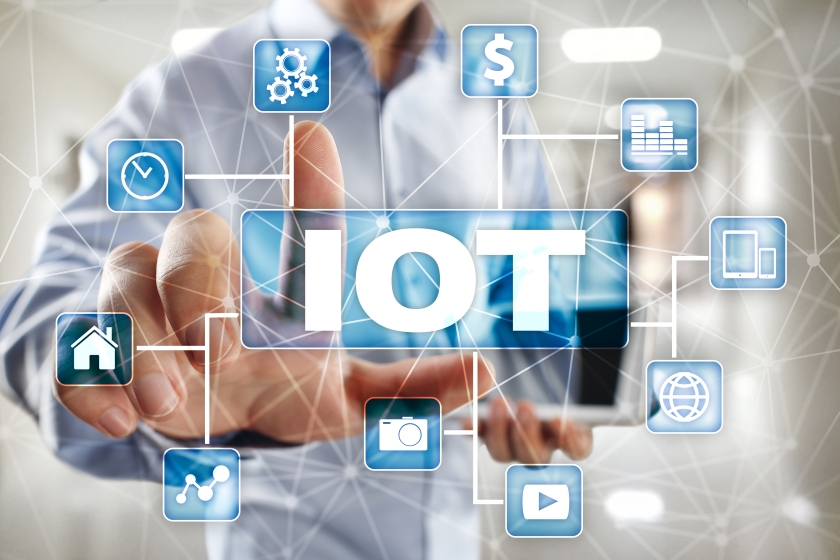 Iot. Internet Of Thing Concept. Multichannel Online Communicatio